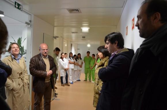 Presidente da Câmara visita Unidade de Cuidados C