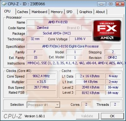 AMD Overclock 9