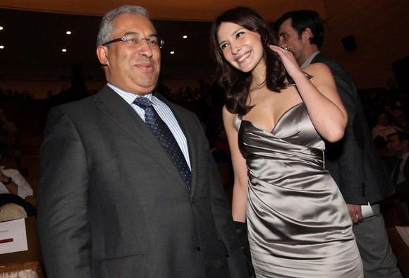 António Costa e Soraia