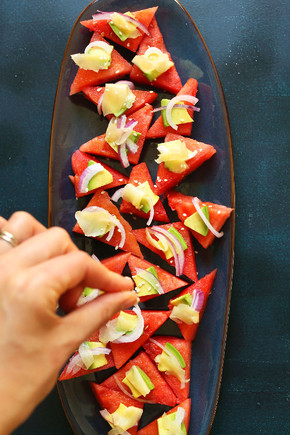WATERMELON-SASHIMI-10-minutes-SO-fresh-and-flavoru
