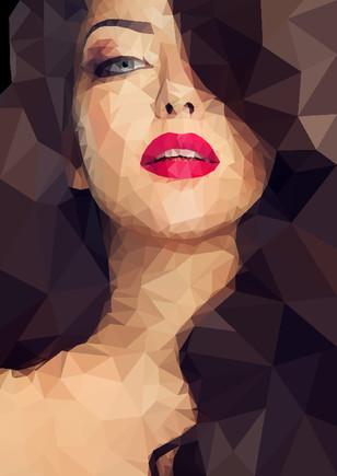 Polygonal-Portrait