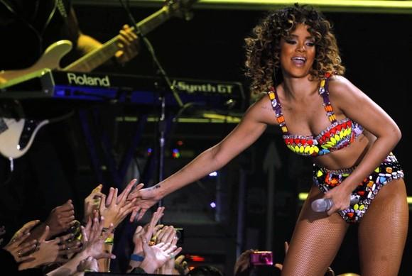 Rihanna no Pavilhão Atlântico