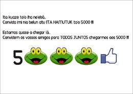 5000 likes