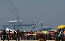 Réveillon Copacabana - Banhistas na Praia de Co