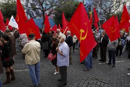 PORTUGAL MANIFESTAÇÃO PCP
