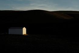 Paisagem perto Setenil de las Bodegas, Espanha