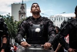 Polícia contra a austeridade, Rio Janeiro