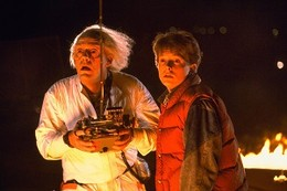 Back_to_the_Future_(time_travel_test)_with_Michael