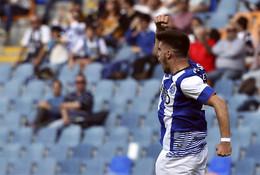 Rúben Neves celebra o golo do empate