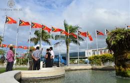 Preparativos 20 de Maio Palácio Presidencial