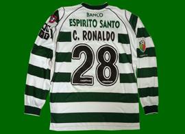 match-worn-Cristiano-Ronaldo-Sporting-Lisbon-jerse