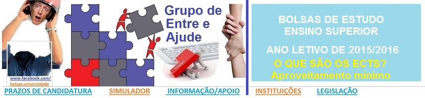 Bolsas de Estudo_Ensino Superior_2015_2016_ECTS E