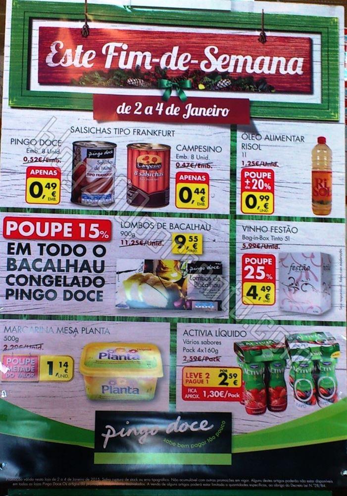 Avistamento - Folheto Fim de Semana PINGO DOCE de