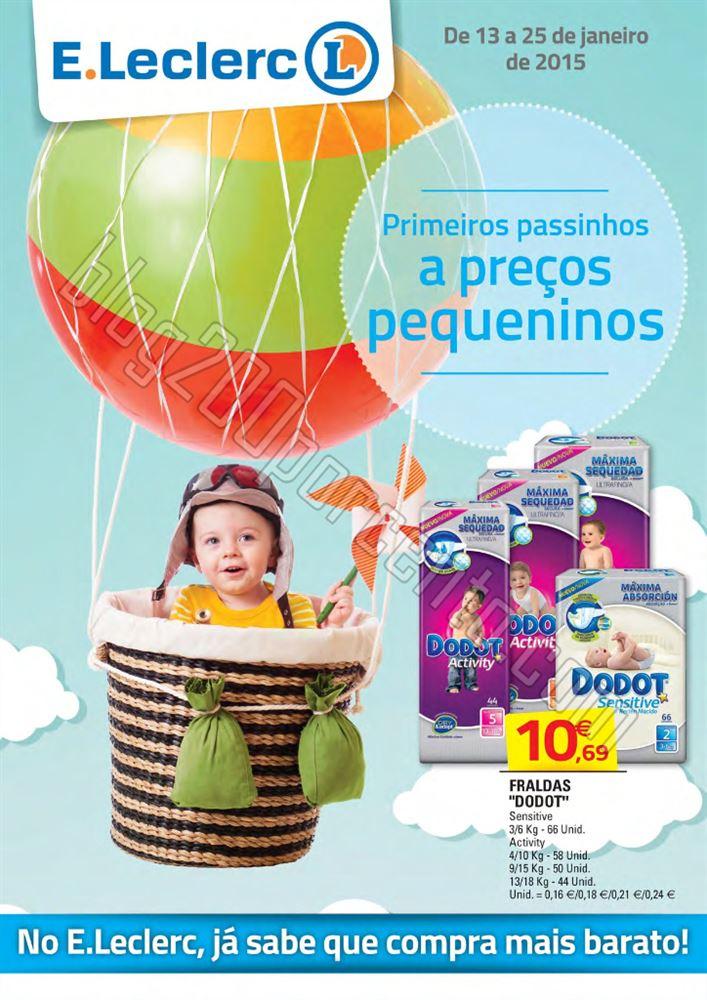 Antyevisão Folheto E-LECLERC Nacional Bebé de 13
