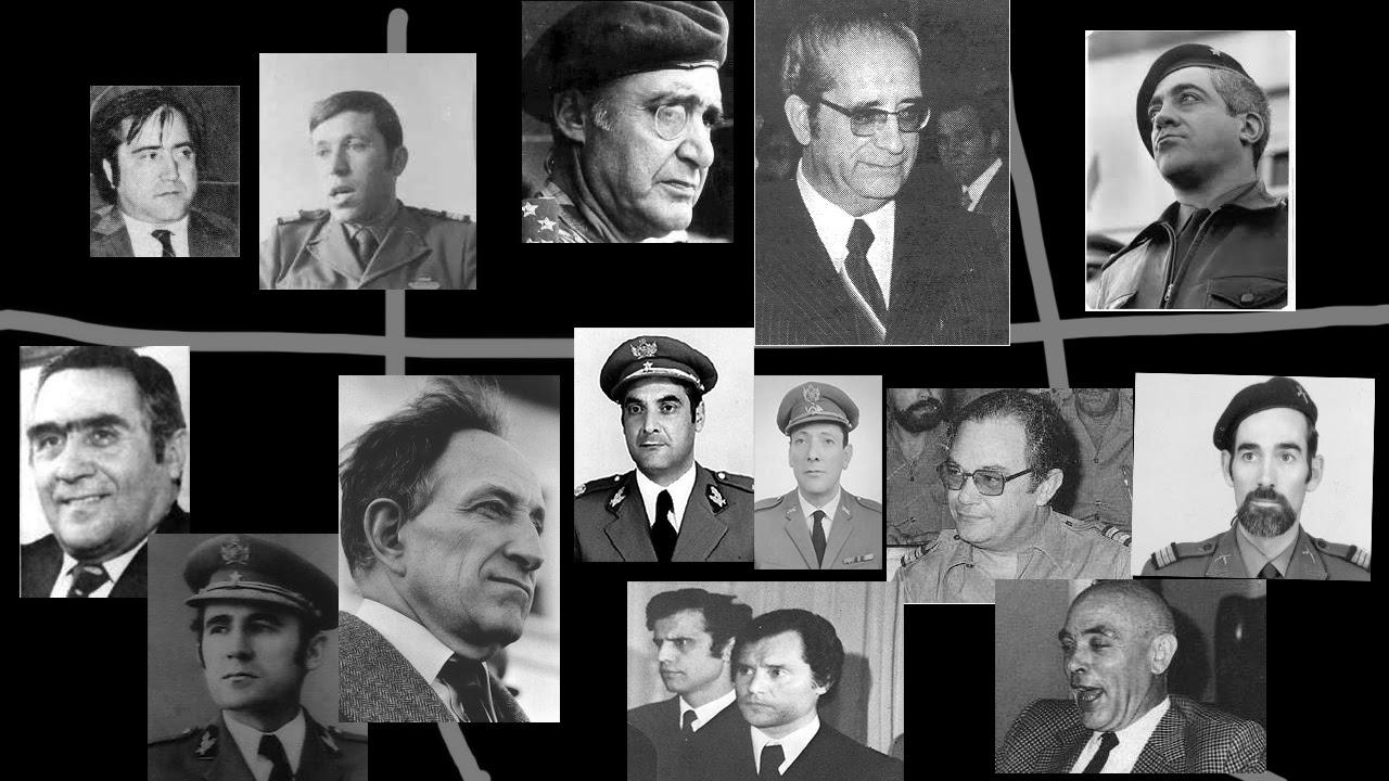 Todos os envolvidos no golpe de estado do dia 25 d