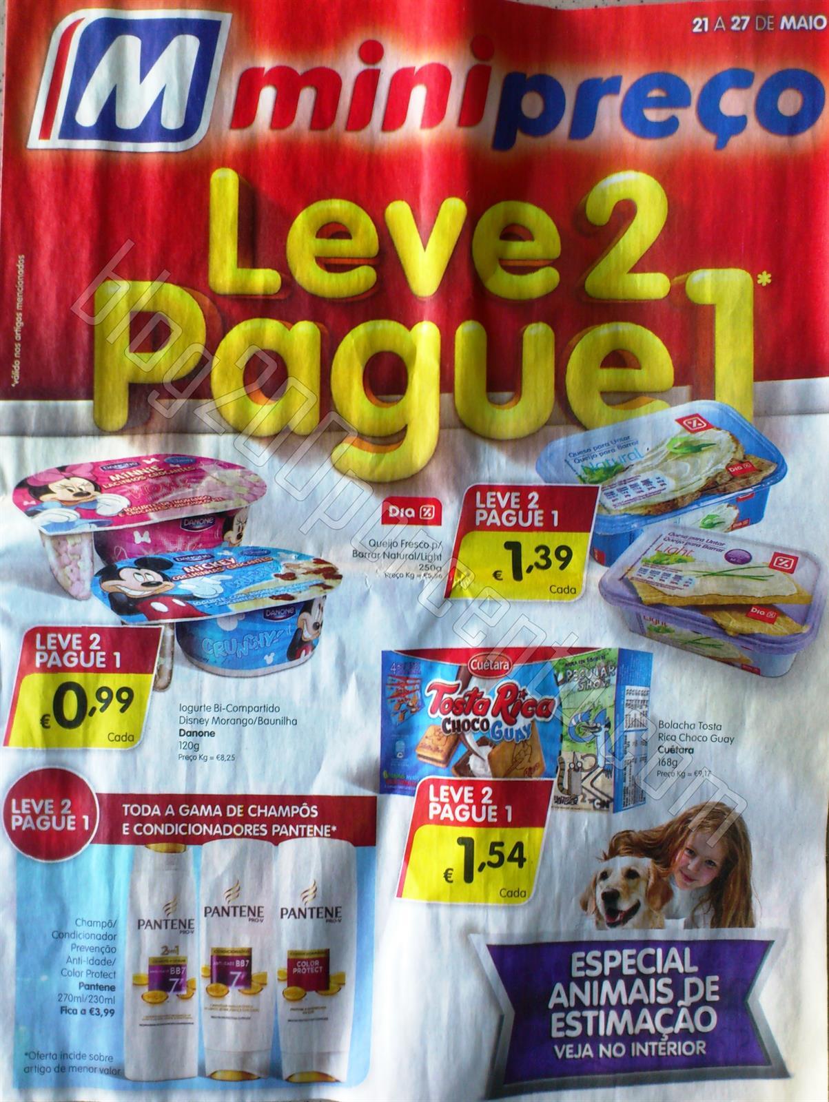 Antevisão Folheto MINIPREÇO Promoções de 21 a