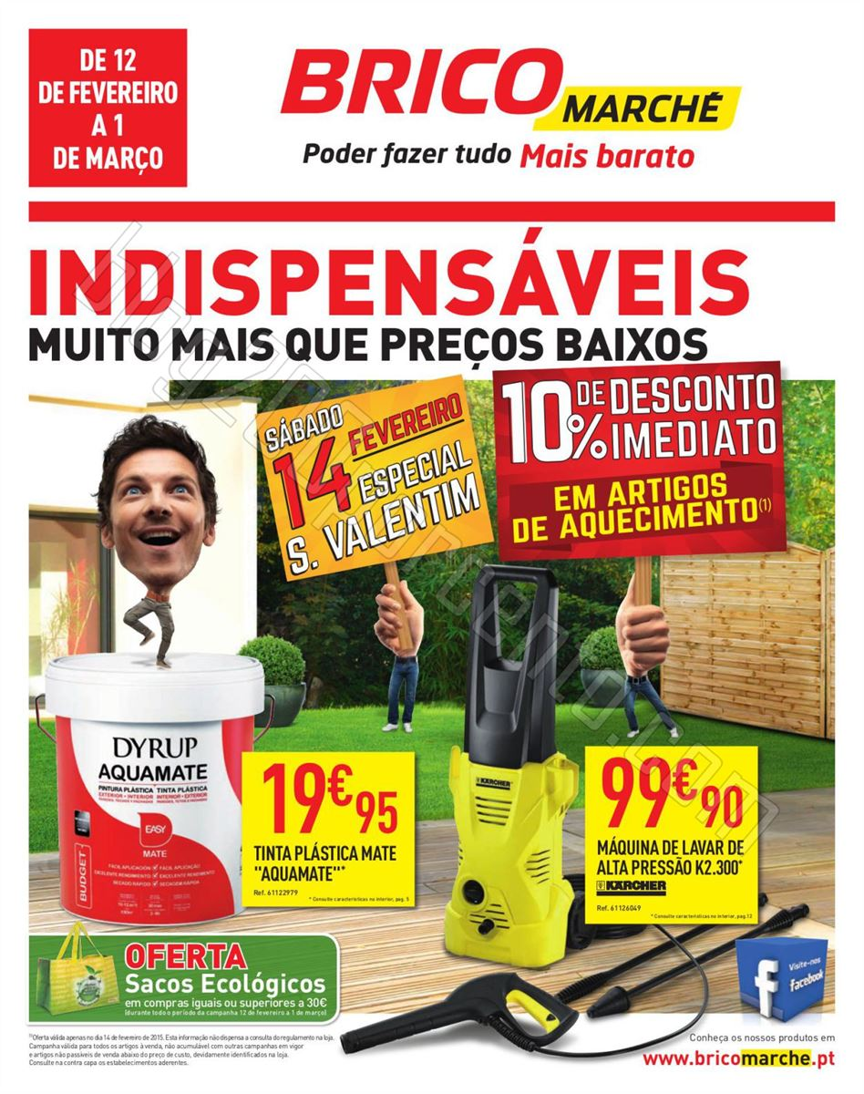 Antevisão Folheto BRICOMARCHÉ de 12 fevereiro a