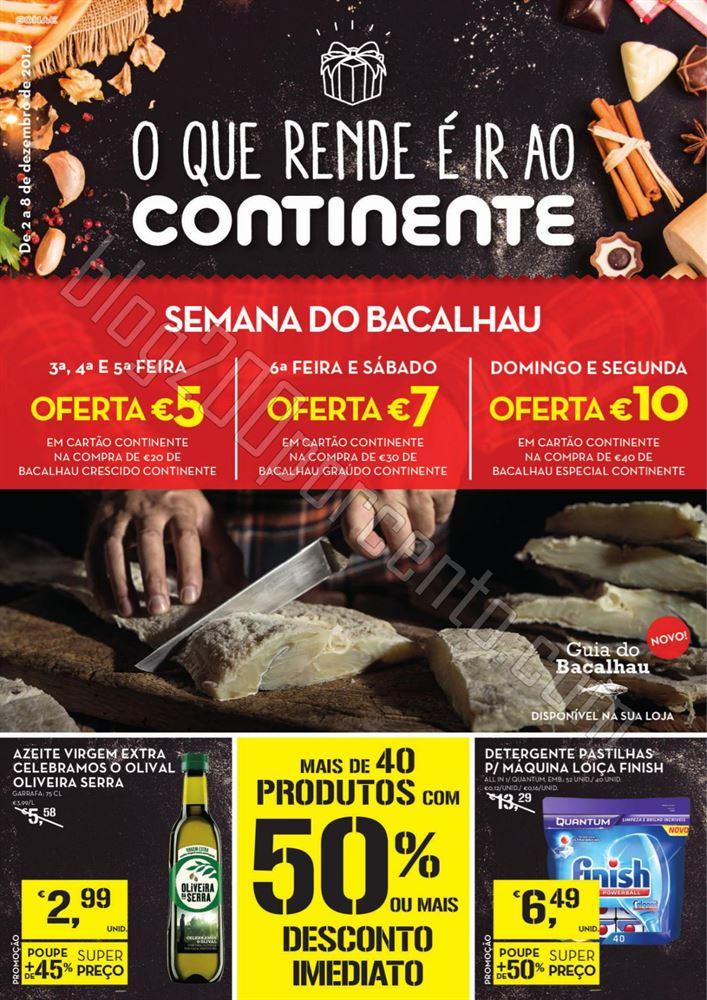 Antevisão Folheto CONTINENTE de 2 a 8 dezembro -