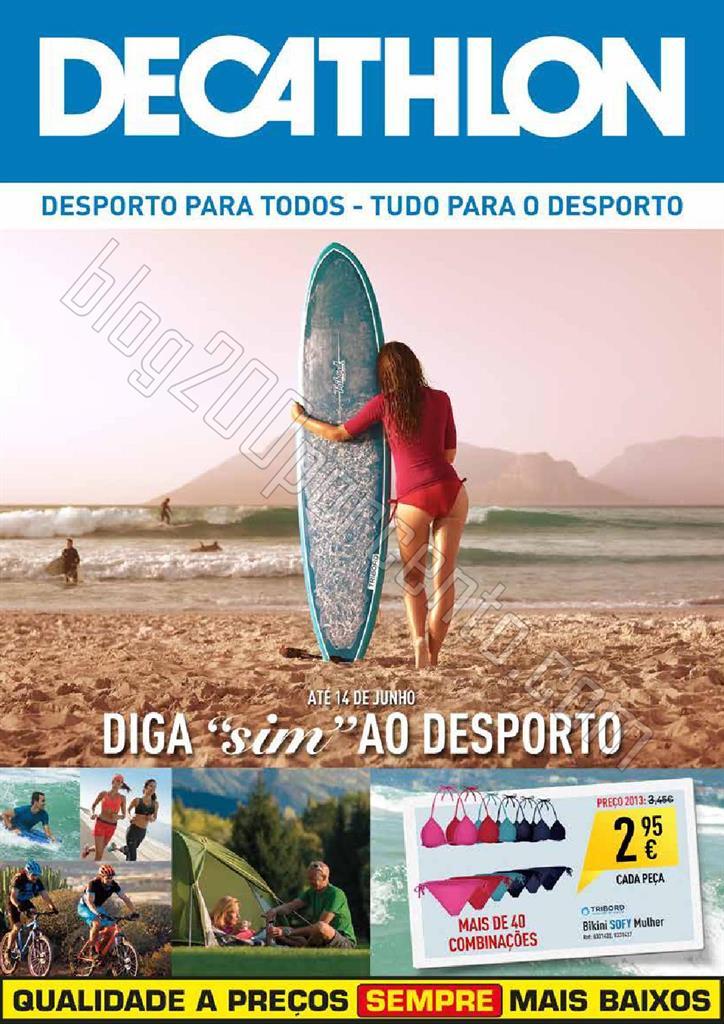 Antevisão Folheto DECATHLON Verão de 21 maio a 1